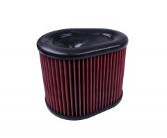 S&B Filters Air Filter For Intake Kits 75-5086, 75-5088, 75-5089 Oiled Cotton Cleanable Red